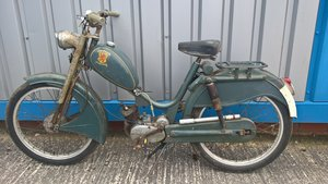 1956 Lion Rouge. Rare Belgium Moped, Sachs Engine For Sale