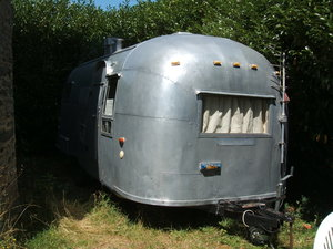 1958 AIRSTREAM STOLEN FROM FRANCE