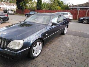1998 Mercedes cl500 c140 coupe final edition
