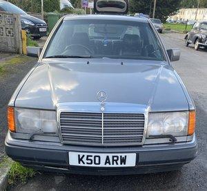 Mercedes 300ce coupe ce 1992 auto grey fsh h/lthr