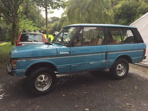1975 Range Rover Classic 2 Door Suffix D