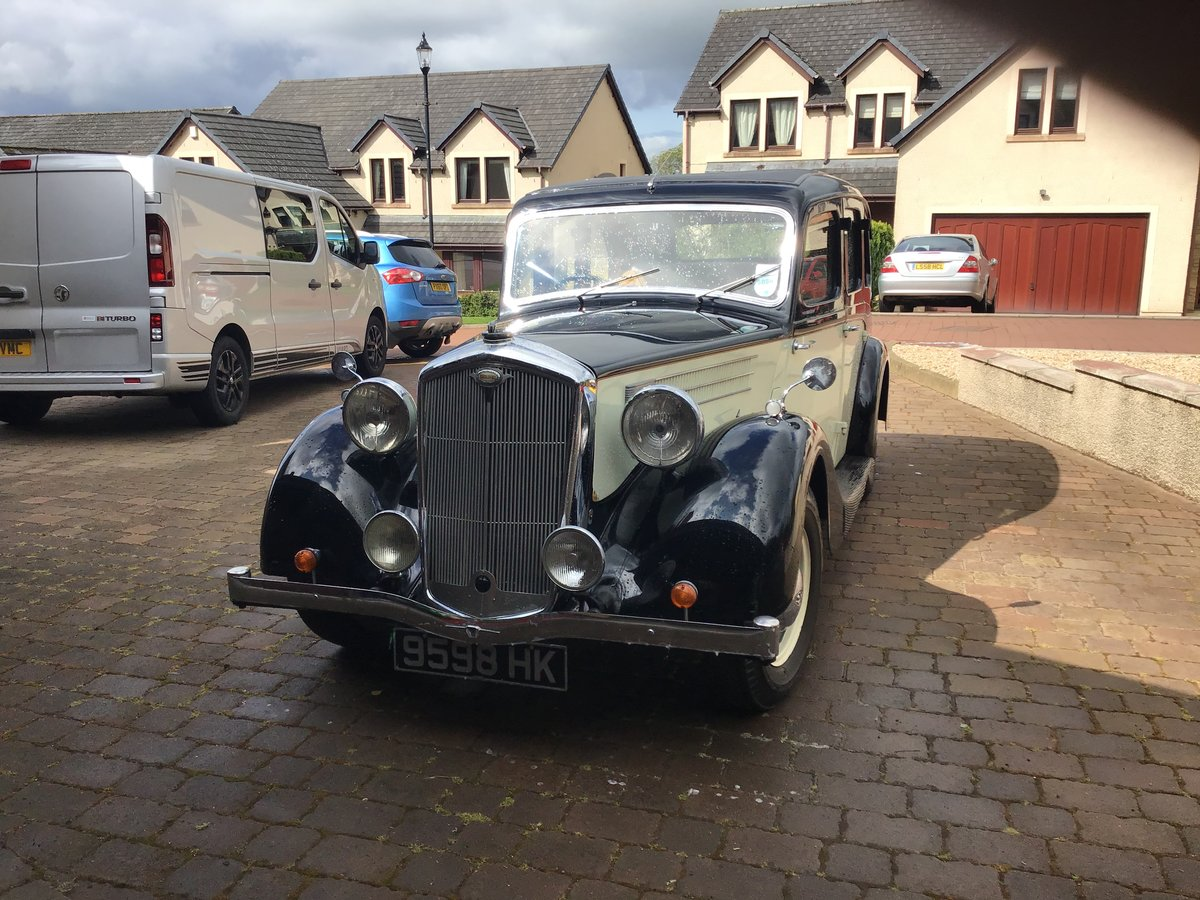 1942 Wolseley 18/85 Full restoration For Sale (picture 1 of 6)