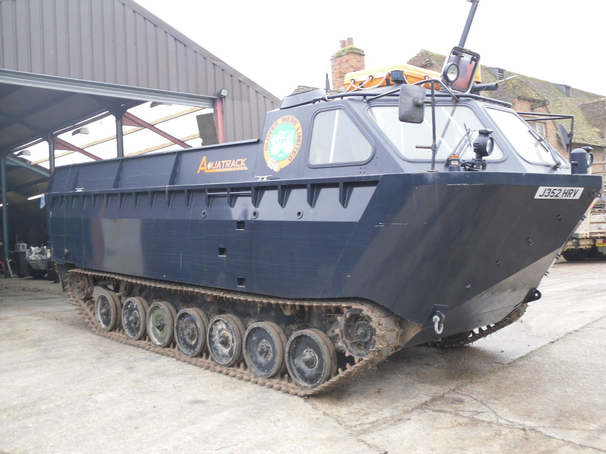 1991 Aquatrack Amphibious Load Carrier For Sale (picture 1 of 5)