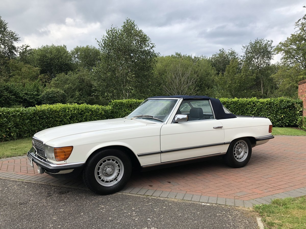 1982 Mercedes SL 500 For Sale (picture 1 of 5)