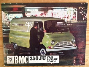 BMC 250 JU sales brochure For Sale