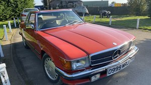 1987 Mercedes Benz 500SL For Sale