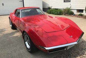 1972 Chevy Corvette beautiful solid driver ready to go!