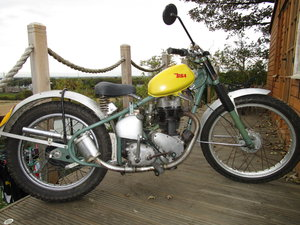 1954 BSA C11 Rigid green lane bike V5C Tranferable