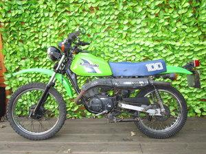 Kawasaki ke100 classsic jap barn find project