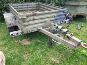1980 Sankey british army 1 tonne trailer For Sale