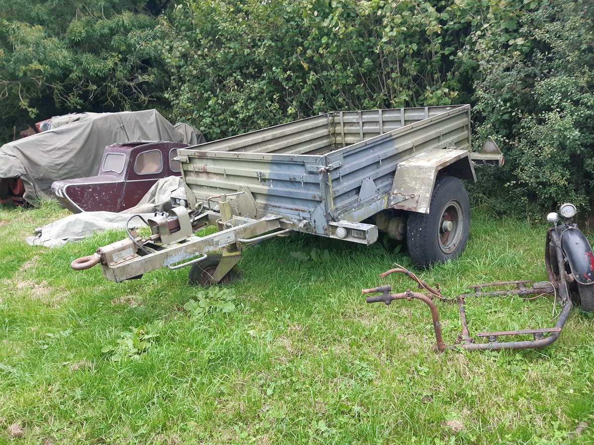 1980 Sankey british army 1 tonne trailer For Sale (picture 2 of 2)