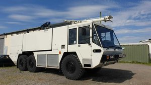 1987 Fire engine/tender 6x6 ultimate camper expedition For Sale