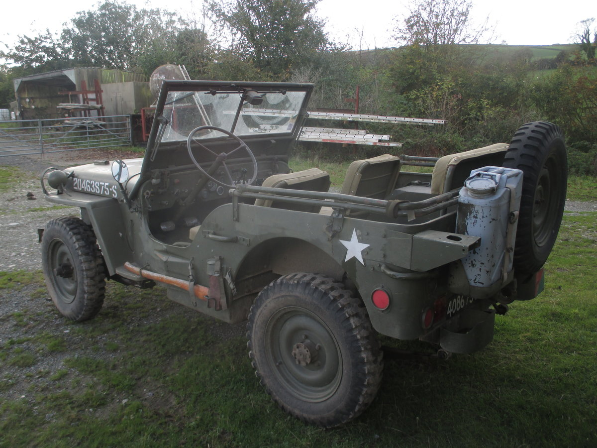 1962 willys jeep  hotchkiss 201 SOLD (picture 1 of 6)
