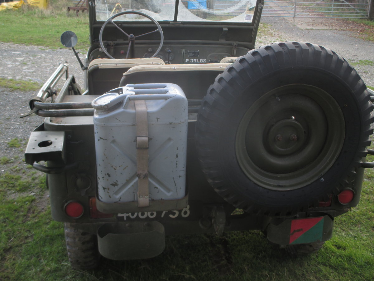 1962 willys jeep  hotchkiss 201 SOLD (picture 2 of 6)