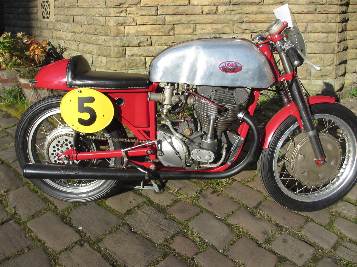 1957 Jawa Grand Prix race bike. Genuine factory model For Sale (picture 2 of 6)