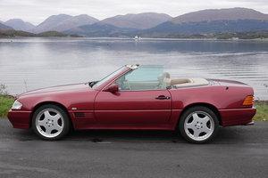 1993 Mercedes SL500