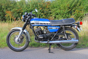 1976 Yamaha RD250-C - Matching Numbers UK Bike - Spoke