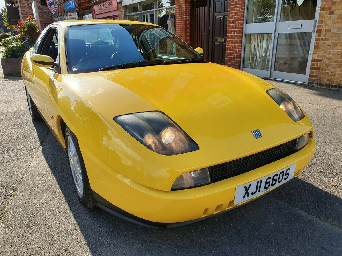 1995 Fiat Coupe 2.0 16valve Private n/plate New MOT For Sale (picture 1 of 6)