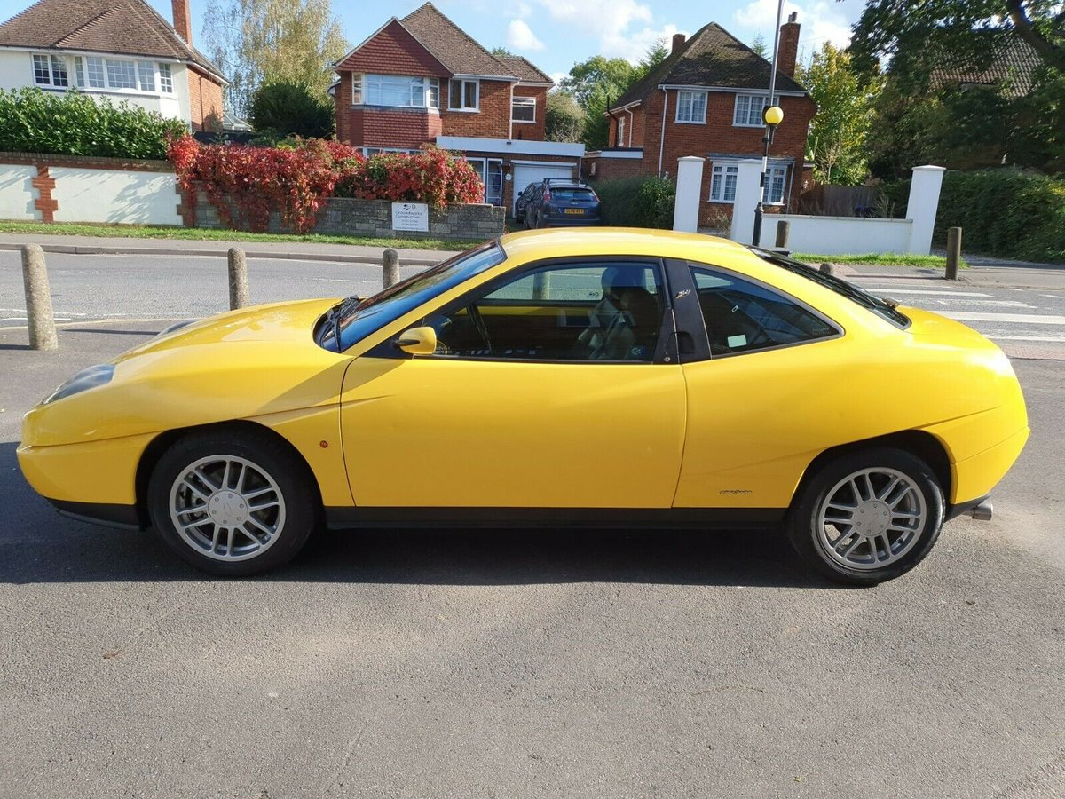 1995 Fiat Coupe 2.0 16valve Private n/plate New MOT For Sale (picture 3 of 6)