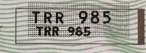 TRR 985 For Sale