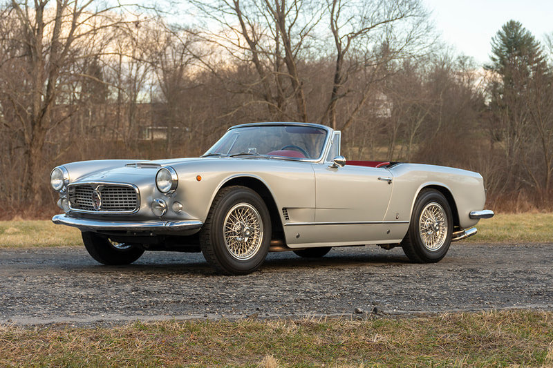 1961 Maserati 3500 Vignale Spyder SOLD (picture 2 of 6)