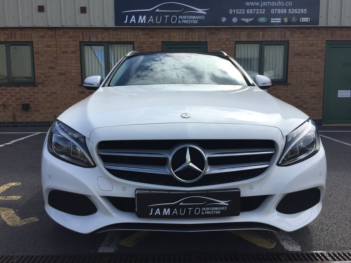 2015 C Class 2.0 C200 Sport (Premium) 7G-Tronic FSH For Sale (picture 1 of 6)