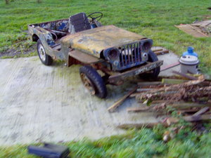 1946 willys jeep project