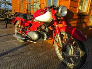 1956 Motobi ardizio 125 uk reg