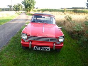1969 triumph herald 13/60 convertable price reduced For Sale