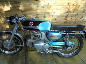 1969 motobi 125 super sport rare bike