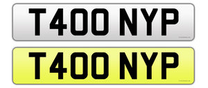 T400 NYP registration on retention certificate For Sale