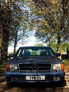 1990 Mercedes-Benz 500SEC (C126)