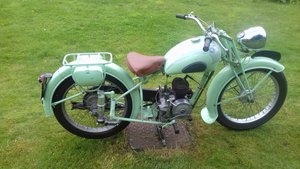 1953 French Motorcycle -  Automoto AV