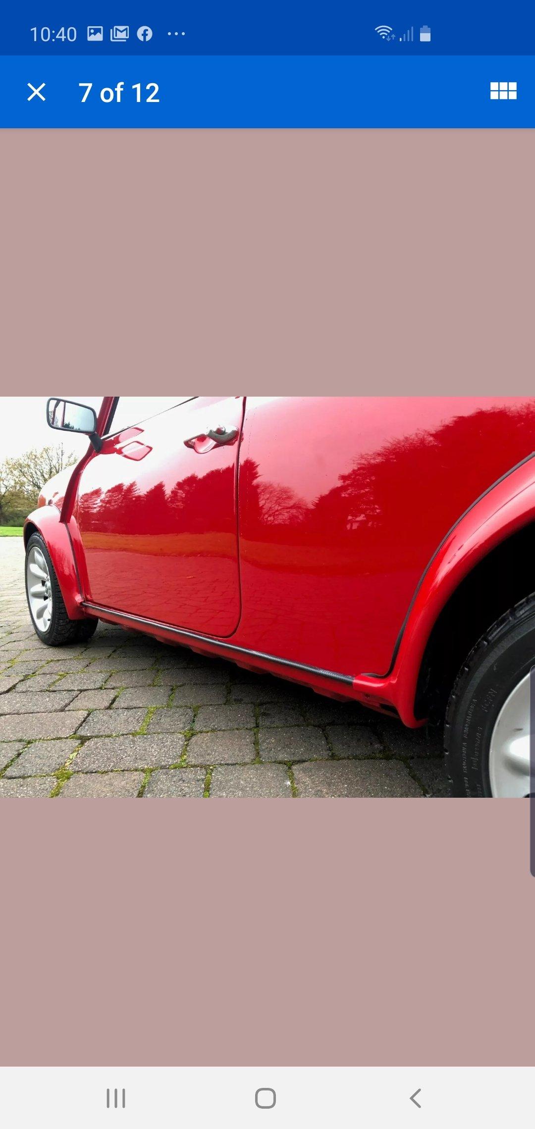 2000 Rover mini Cooper Sport For Sale (picture 5 of 6)