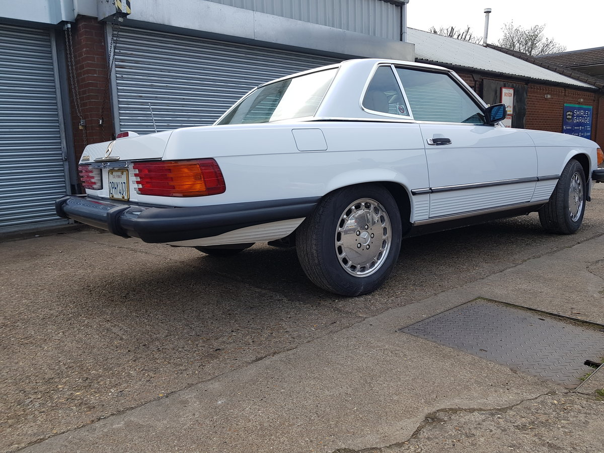 MAGNIFICENT 560SL 1989,lhd,ex california For Sale (picture 1 of 6)