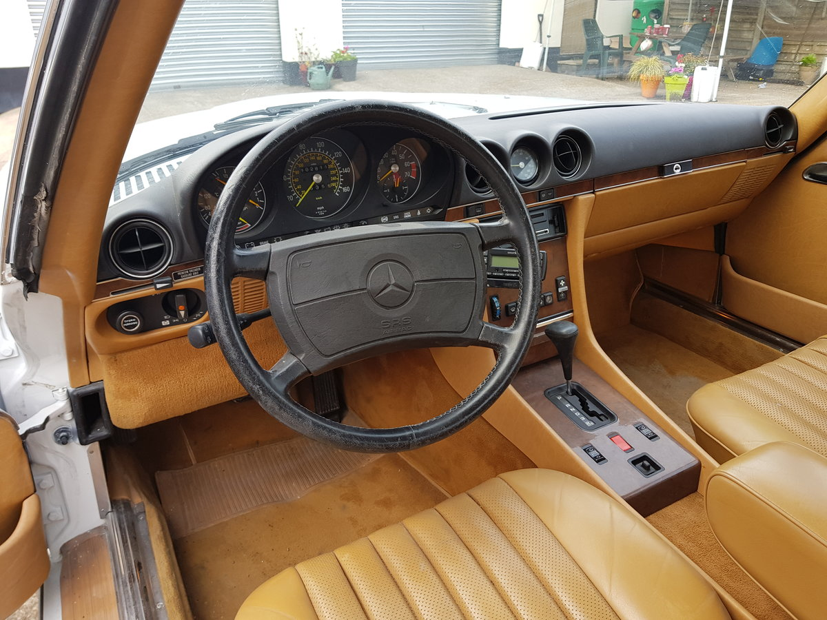 MAGNIFICENT 560SL 1989,lhd,ex california For Sale (picture 6 of 6)
