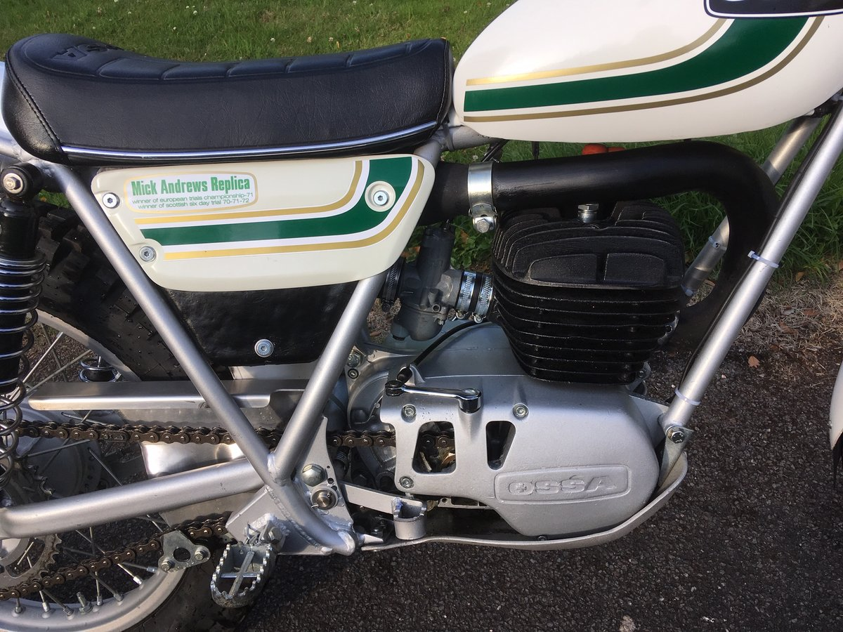 MINT 1975 OSSA MAR MK2 250cc TRIAL For Sale (picture 2 of 6)