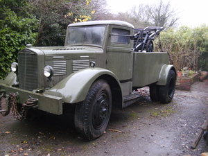 1942 Vintage Brockway 260A Recovery Truck EX MOD