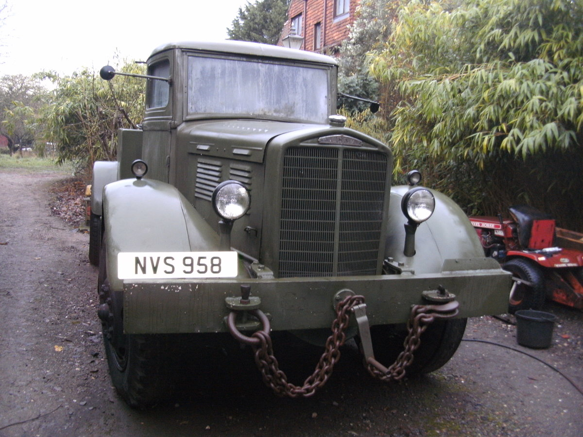1942 Vintage Brockway 260A Recovery Truck EX MOD For Sale (picture 6 of 6)