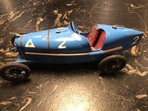 Picture of 1924 Alfa Romeo P2 Tinplate Toy by CIJ SOLD