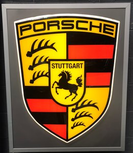 Picture of 1975 An original large Porsche dealer sign SOLD