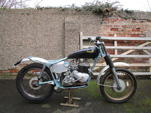 1963 TRIFIELD trials bike project . Triumph 500SV