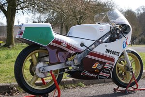 Decorite Harris Rotax 256 race bike