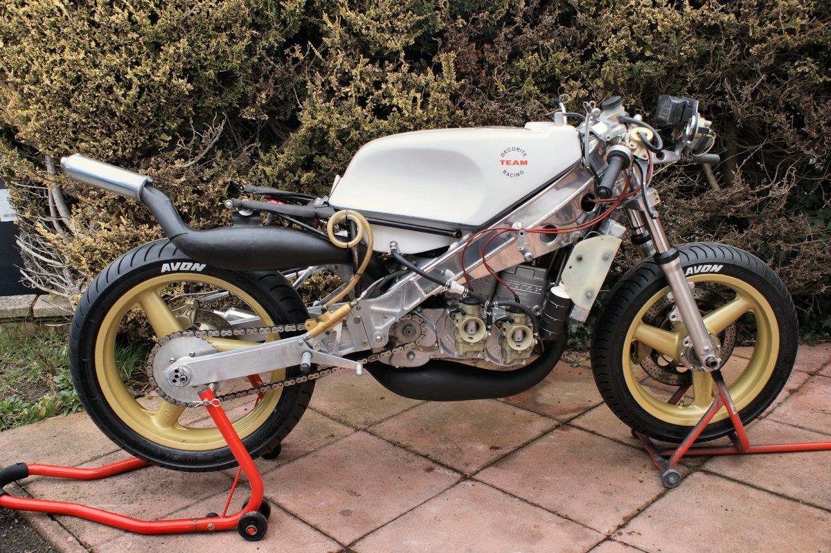 1986 Decorite Harris Rotax 256 race bike For Sale (picture 2 of 5)