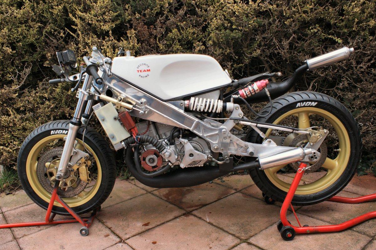 1986 Decorite Harris Rotax 256 race bike For Sale (picture 3 of 5)
