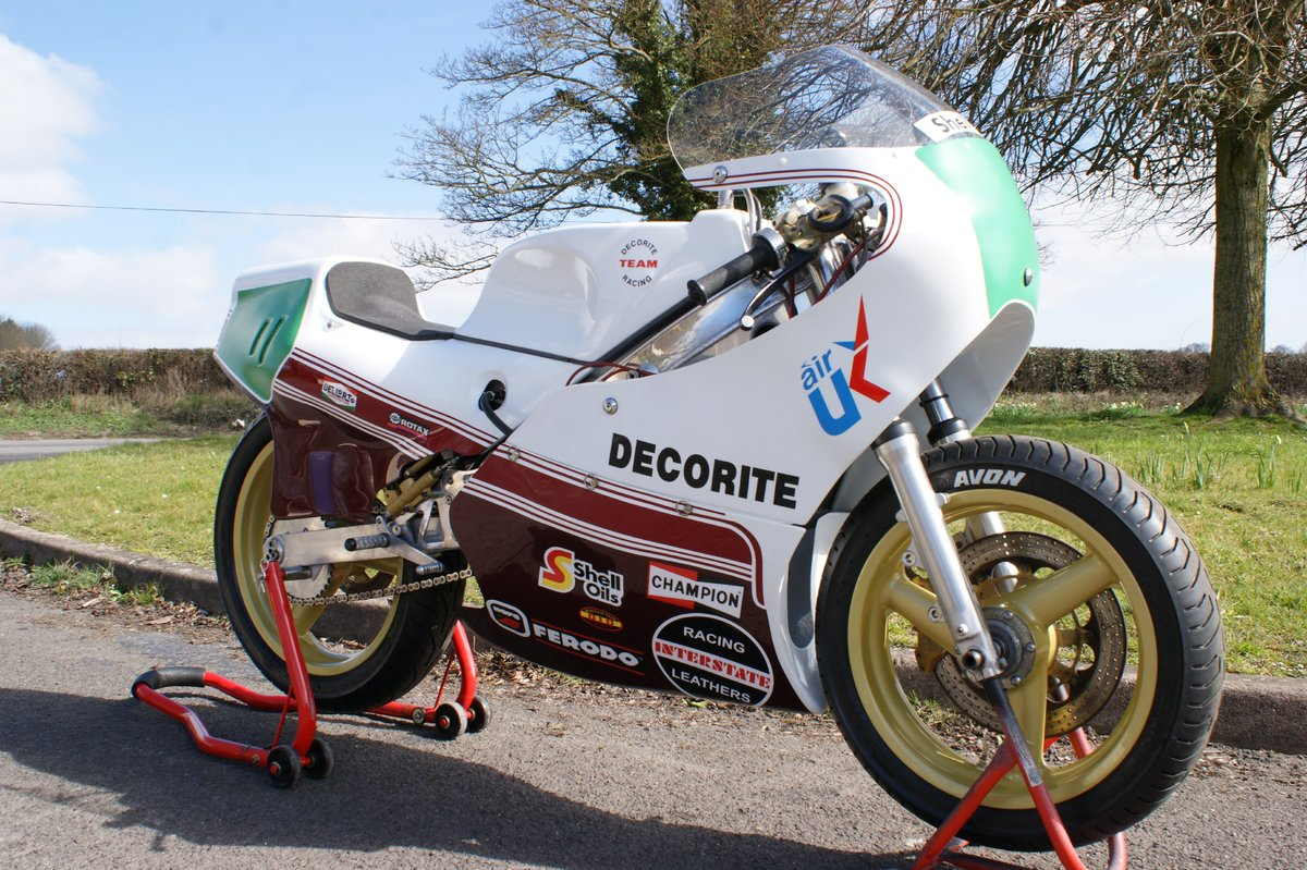 1986 Decorite Harris Rotax 256 race bike For Sale (picture 4 of 5)