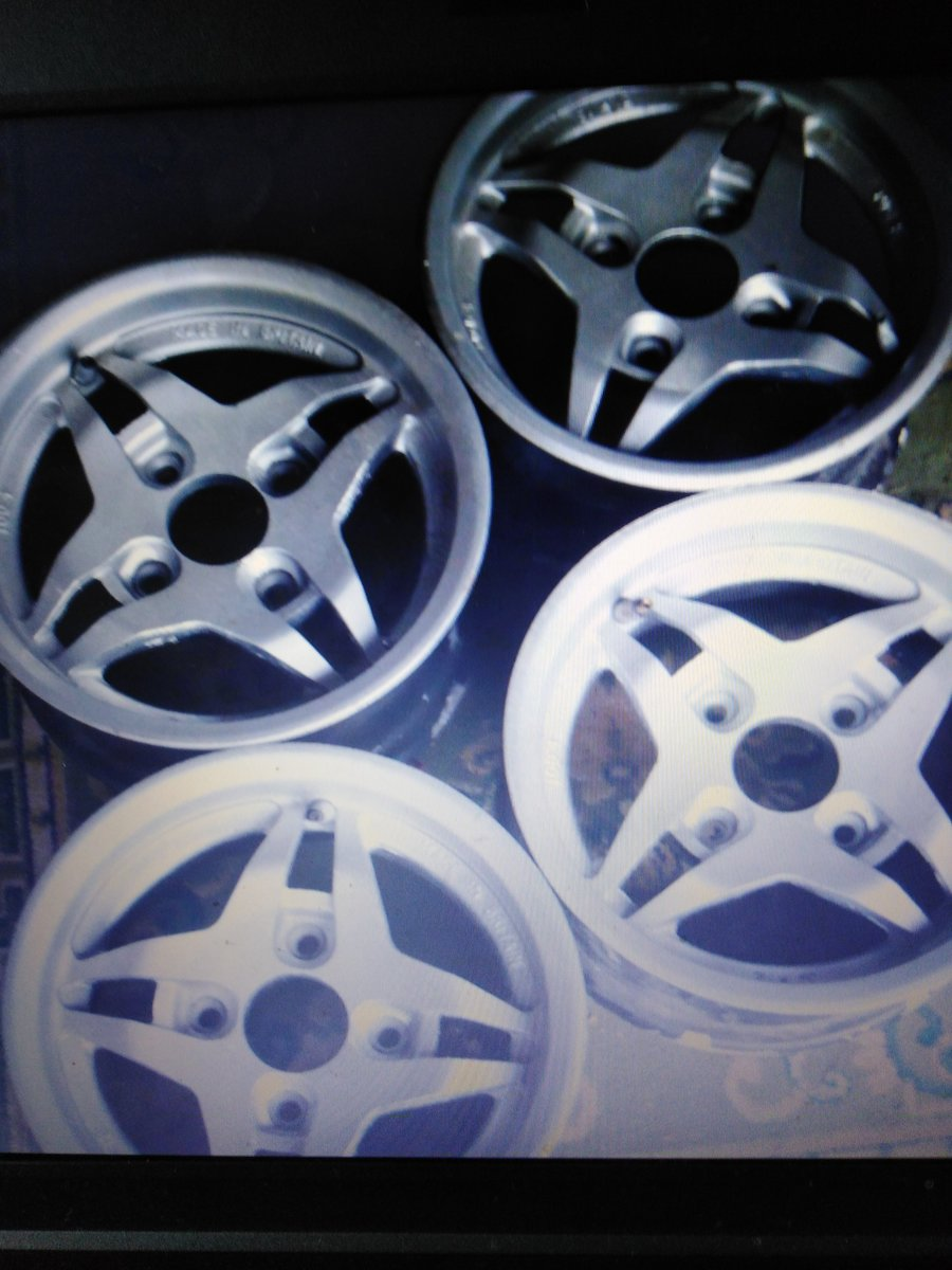 1970 Alloy Wheels For Sale (picture 1 of 1)