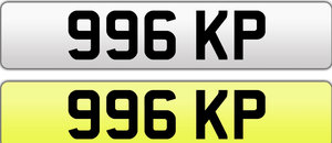 1950 Great plate for Porsche perhaps or MR KP??!! Endless options