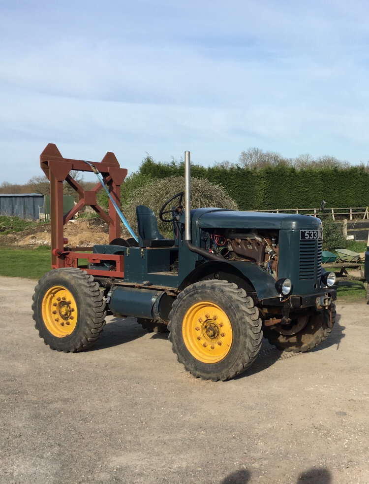 1956 Latil H14TL10 Timber Tractor For Sale (picture 1 of 1)