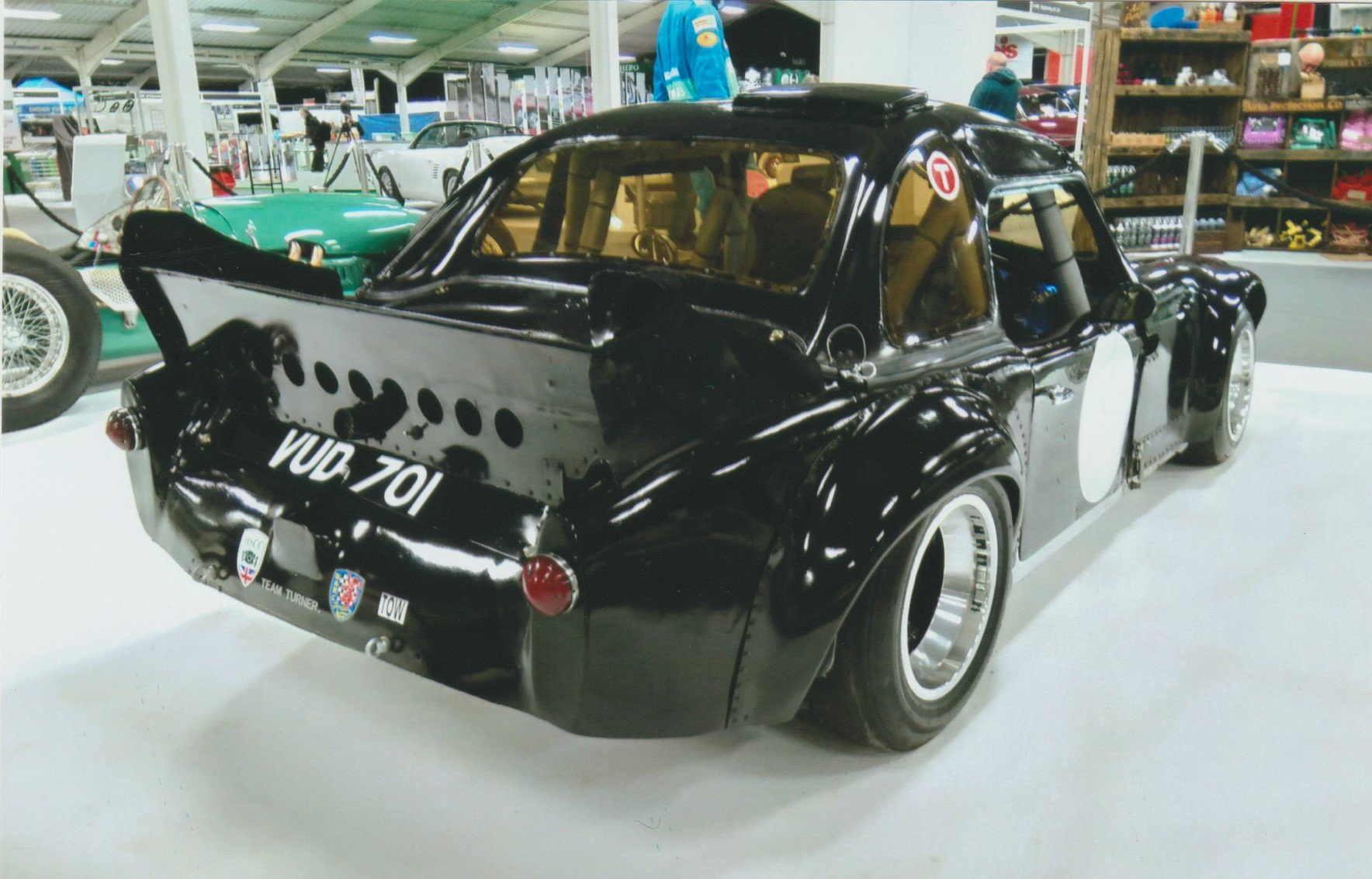 1963 Historic Turner Ford Mk11 Sports Race Car VUD 701 Cosworth For Sale (picture 2 of 6)